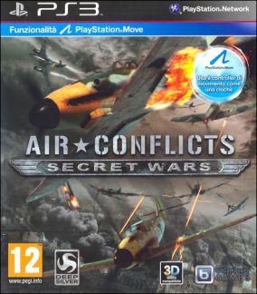 Copertina del gioco Air Conflicts Secret Wars per PlayStation 3