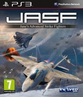 Copertina del gioco Jane's Advanced Strike Fighters per PlayStation 3