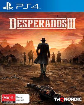 Copertina del gioco Desperados III per PlayStation 4