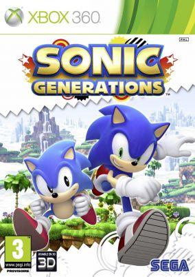 Copertina del gioco Sonic Generations per Xbox 360