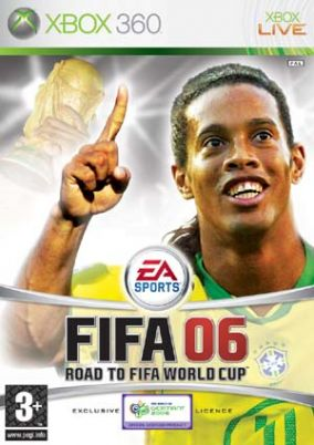 Copertina del gioco Fifa 06: Road To Fifa World Cup per Xbox 360