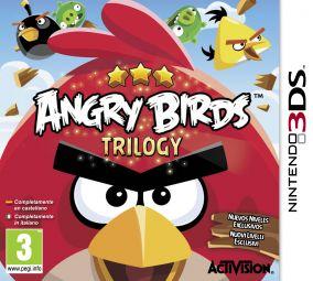 Immagine della copertina del gioco Angry Birds Trilogy per Nintendo 3DS