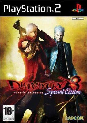 Immagine della copertina del gioco Devil May Cry3: Dante's Awakening Special Edition per Playstation 2