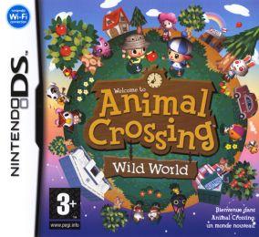 Immagine della copertina del gioco Animal Crossing: Wild World per Nintendo DS