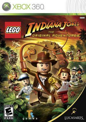 Copertina del gioco LEGO Indiana Jones: Le Avventure Originali per Xbox 360