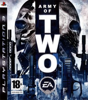 Copertina del gioco Army of Two per PlayStation 3