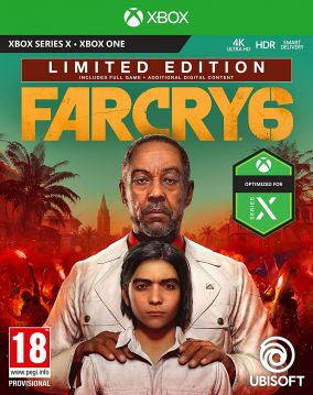 Copertina del gioco Far Cry 6 per Xbox Series X