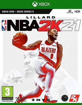 Copertina del gioco NBA 2K21 per Xbox One