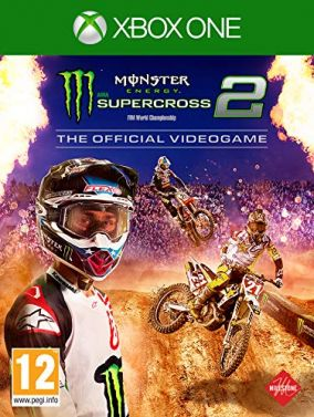 Copertina del gioco Monster Energy Supercross - The Official Videogame 2 per Xbox One