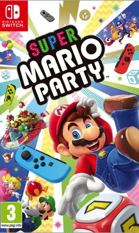 Copertina del gioco Super Mario Party per Nintendo Switch