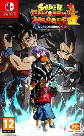 Immagine della copertina del gioco Super Dragon Ball Heroes World Mission per Nintendo Switch
