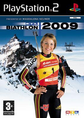 Copertina del gioco RTL Biathlon 2009 per PlayStation 2