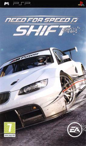 Immagine della copertina del gioco Need for Speed: Shift per PlayStation PSP