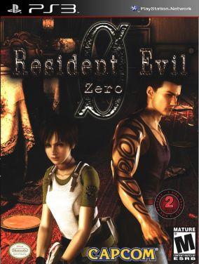 Copertina del gioco Resident Evil 0 per PlayStation 3