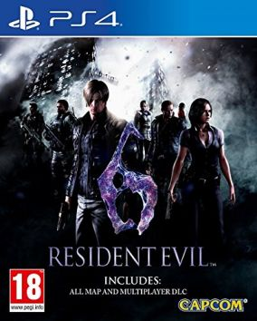 Copertina del gioco Resident Evil 6 per PlayStation 4