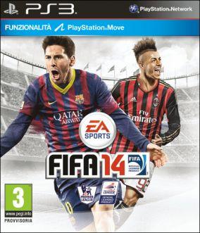 Immagine della copertina del gioco FIFA 14 per Playstation 3