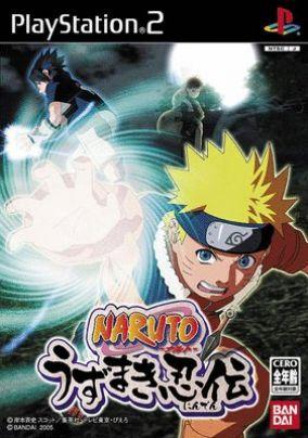 Copertina del gioco Naruto: Uzumaki Ninden per PlayStation 2