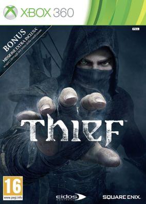 Copertina del gioco Thief per Xbox 360