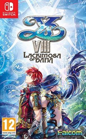 Immagine della copertina del gioco Ys Vlll: Lacrimosa of DANA per Nintendo Switch