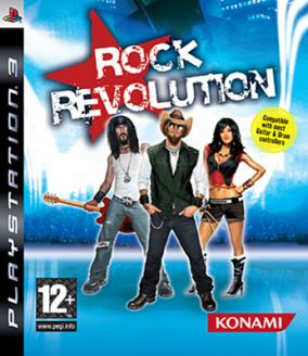 Copertina del gioco Rock Revolution per PlayStation 3