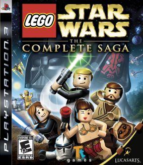 Copertina del gioco LEGO Star Wars: La saga completa per PlayStation 3