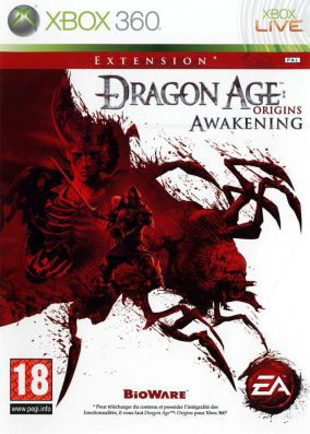 Copertina del gioco Dragon Age Origins: The Awakening per Xbox 360