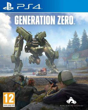Copertina del gioco Generation Zero per PlayStation 4