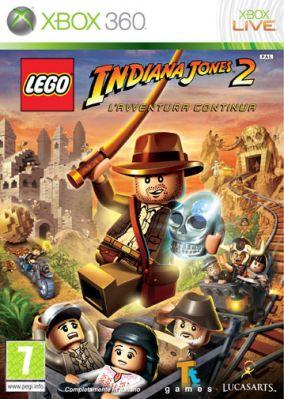 Copertina del gioco LEGO Indiana Jones 2: L'avventura continua per Xbox 360