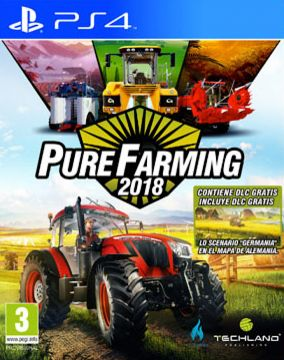 Immagine della copertina del gioco Pure Farming 2018 per Playstation 4