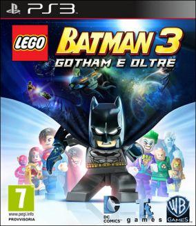 Immagine della copertina del gioco LEGO Batman 3: Gotham e Oltre per PlayStation 3