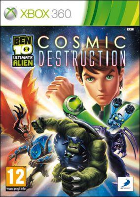 Copertina del gioco Ben 10: Ultimate Alien: Cosmic Destruction per Xbox 360