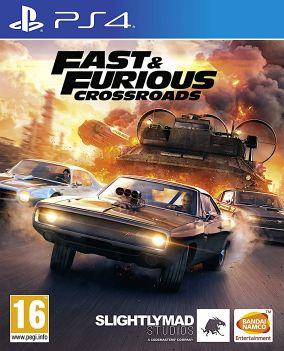Immagine della copertina del gioco Fast & Furious Crossroads per PlayStation 4