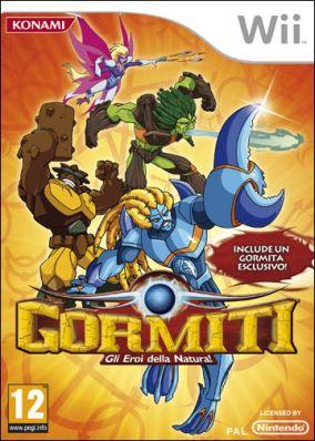 Copertina del gioco Gormiti: Il Ritorno dei Signori della Natura per Nintendo Wii