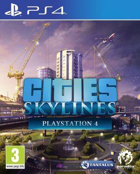 Copertina del gioco Cities: Skylines per PlayStation 4