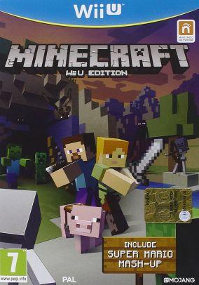 Copertina del gioco Minecraft per Nintendo Wii U