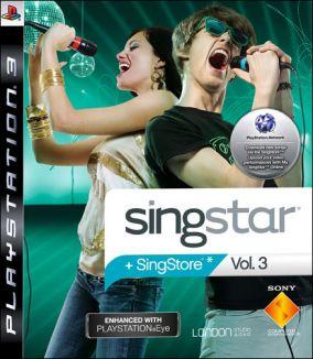 Immagine della copertina del gioco SingStar Vol. 3 per PlayStation 3