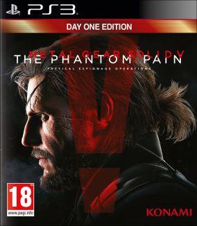 Copertina del gioco Metal Gear Solid V: The Phantom Pain per PlayStation 3