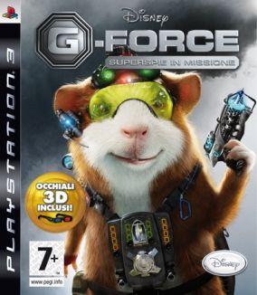Immagine della copertina del gioco G-Force per PlayStation 3