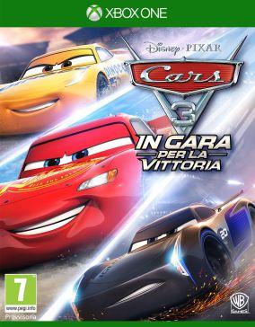 Immagine della copertina del gioco Cars 3: In gara per la vittoria per Xbox One