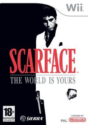 Immagine della copertina del gioco Scarface: The World is Yours per Nintendo Wii