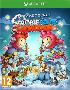 Copertina del gioco Scribblenauts: Showdown per Xbox One