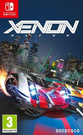 Immagine della copertina del gioco Xenon Racer per Nintendo Switch