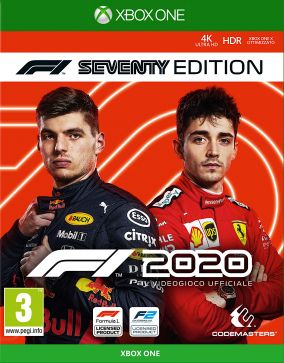 Copertina del gioco F1 2020 per Xbox One