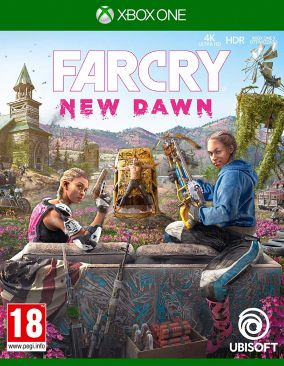 Copertina del gioco Far Cry New Dawn per Xbox One