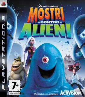 Copertina del gioco Mostri Contro Alieni per PlayStation 3