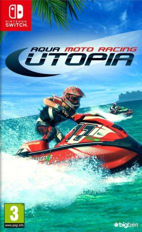 Immagine della copertina del gioco Aqua Moto Racing Utopia per Nintendo Switch