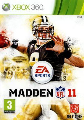 Copertina del gioco Madden NFL 11 per Xbox 360