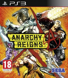 Copertina del gioco Anarchy Reigns per PlayStation 3
