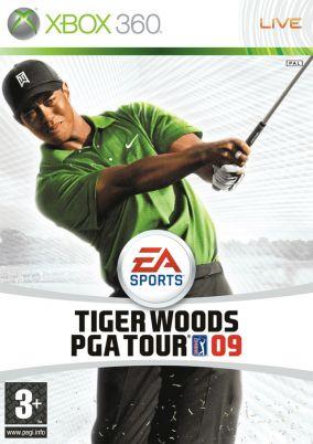 Copertina del gioco Tiger Woods PGA Tour 09 per Xbox 360