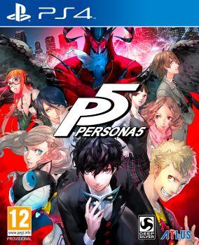 Immagine della copertina del gioco Persona 5 per PlayStation 4